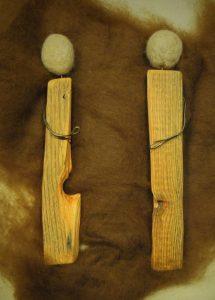 Holzpaar Filz